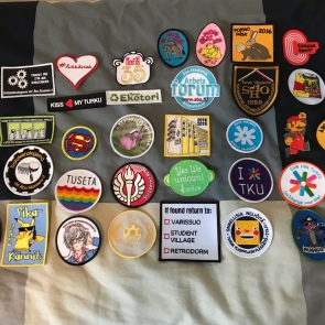 All my overall patches