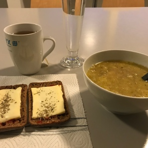 Some soup to get better.